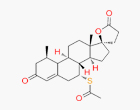 17-Hydroxy-7-alpha-mercapto-3-oxo-17-alpha-pregn-4-ene-21-carboxylic acid-gamma-lactone-7-acetate